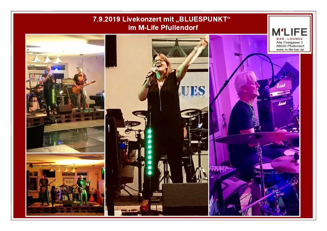 """Impressionen zum Livekonzert mit """"BLUESPUNKT"""""""