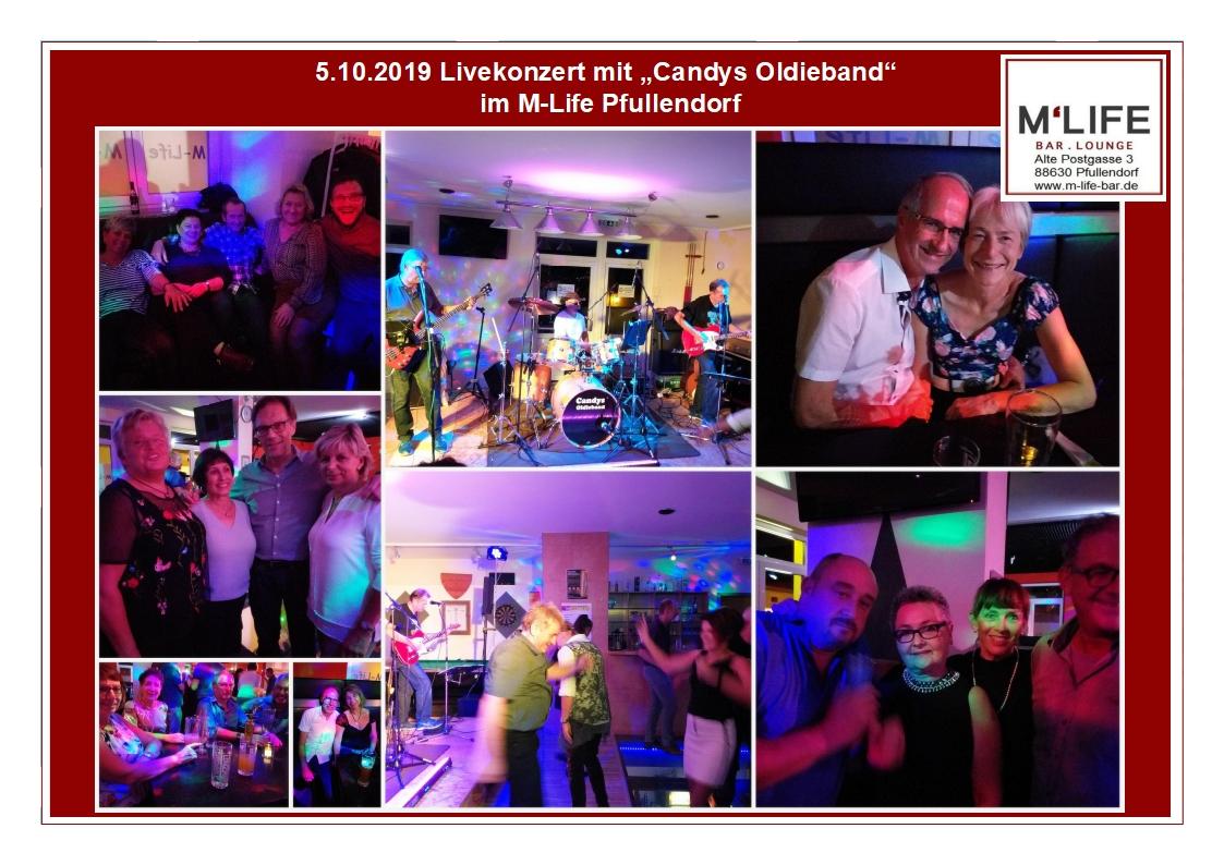 """Impressionen zum Livekonzert mit """"Candys Oldiesband"""""""