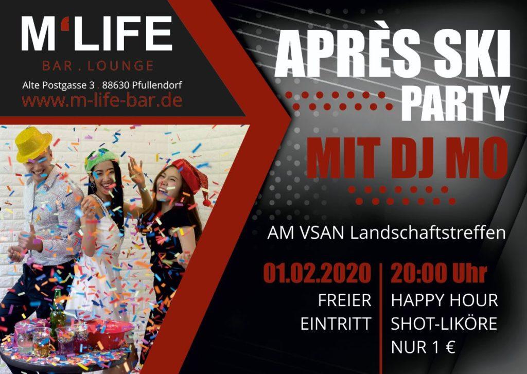 Flyer Après Ski Party mit DJ Mo