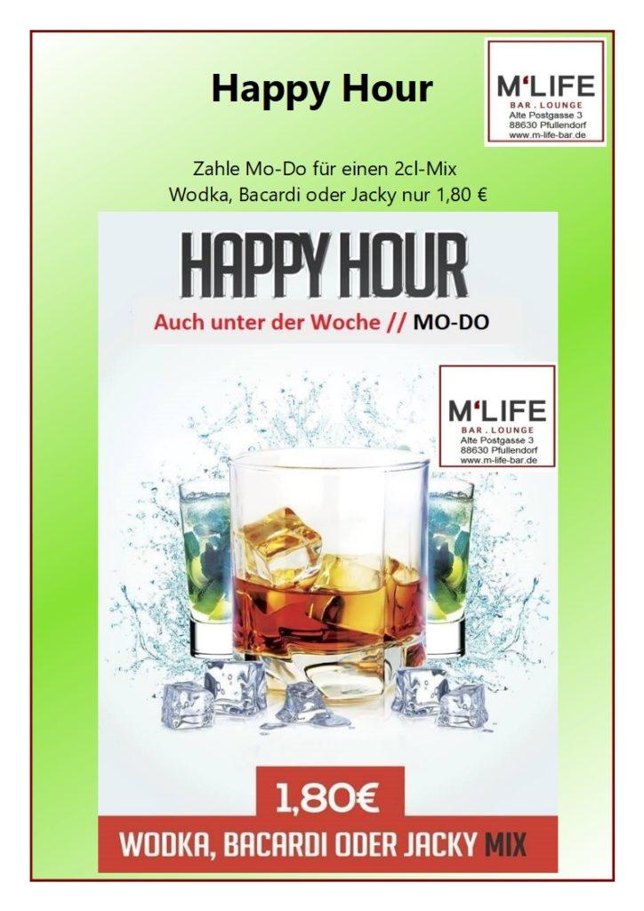 Happy Hour M-Life 2cl-Mix